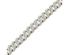 Bracelet argent oxydes LINEARGENT - 17456-P