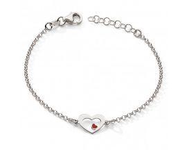 Bracelet argent coeur Stepec - cITBT