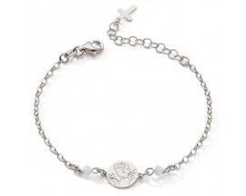 Bracelet argent oxydes ange Stepec - cITJT