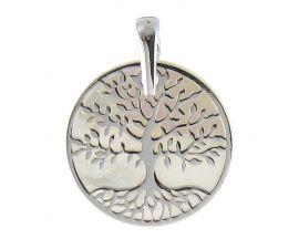 Pendentif or arbre de vie nacre Lucas Lucor - XPA165G