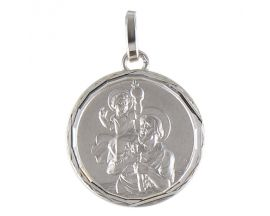 Médaille St Christophe or Lucas Lucor - XR1607LAG
