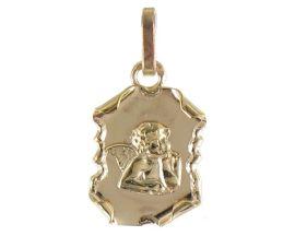 Médaille ange or Lucas Lucor - XR1111
