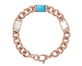 Bracelet plaqué or rose Bronzallure - WSBZ01912.MG