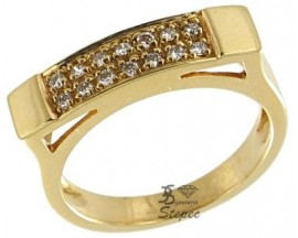 Bague or diamant(s) Stepec - 9854 08
