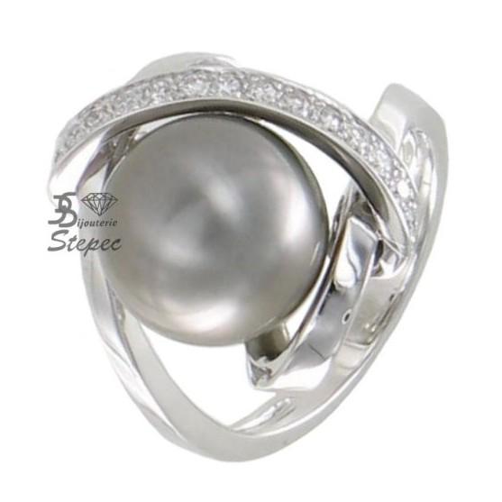bague diamant perle de tahiti