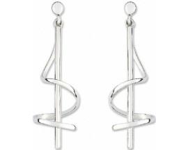 Boucles d'oreilles pendants argent Fontenay - AAWB57