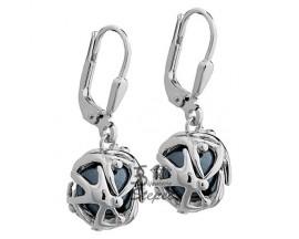 Boucles d'oreilles pendants argent Jourdan - ABR034