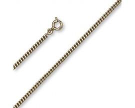 Chaine maille gourmette plaqué or GL Paris - Altesse - 10022032000