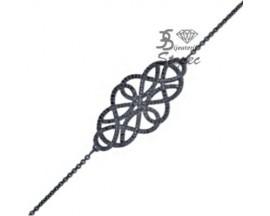 Bracelet argent empierré EOL Paris - ASBY93NZ18