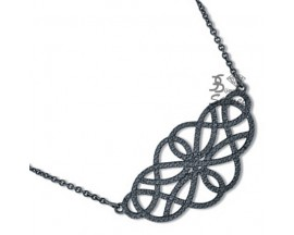 Collier argent oxydes EOL Paris - ASCY93NZ40