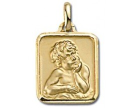 Médaille ange plaqué or GL Paris - Altesse - 100590401K3000