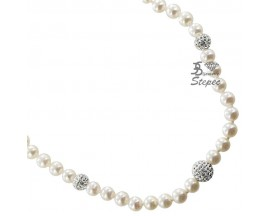 Collier perles & or Stepec - bEJE