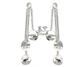 Boucles d'oreilles pendants or Ballet - BE1007CNG00