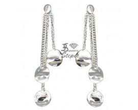 Boucles d'oreilles pendants or Ballet - BE1007CNG00
