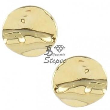 Boucles d'oreilles boutons or Ballet - BE1012CNJ00