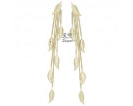 Boucles d'oreilles pendants or Ballet - BE1017CNJ00