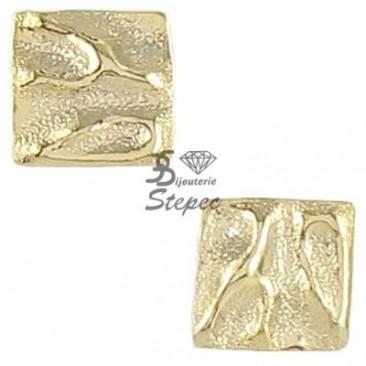 Boucles d'oreilles boutons or Ballet - BE1085CNJ00