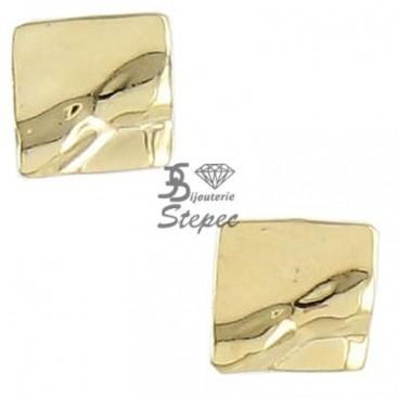 Boucles d'oreilles boutons or Ballet - BE1109CNJ00