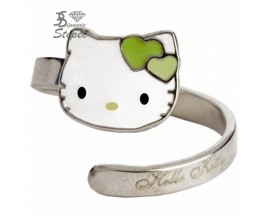 Bague argent Hello Kitty - K22008V
