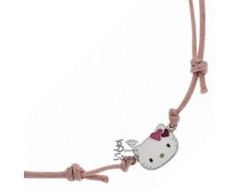Collier argent Hello Kitty - K4C008F