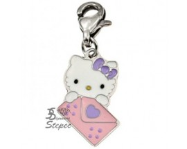 Charm acier Hello Kitty - K91052P