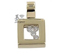 Pendentif or diamant(s) H.Gringoire - LT 2876 BTS