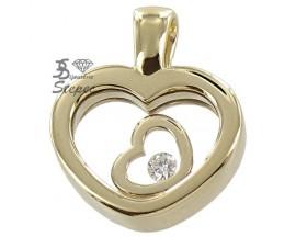 Pendentif or diamant(s) H.Gringoire - LT 2878 BTS