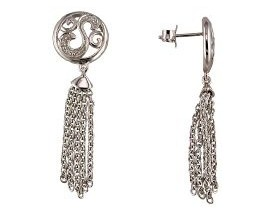 Boucles d'oreilles pendants argent GL Paris - Altesse - 15573661100000