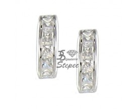 Boucles d'oreilles boutons or Stepec - NA057