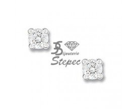 Boucles d'oreilles boutons diamant(s) or Christian Bernard - OK205GB4