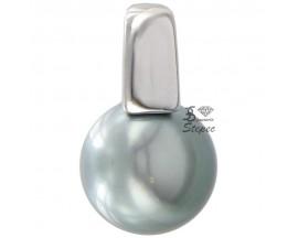 Pendentif perle de Tahiti argent Stepec - P319T-A