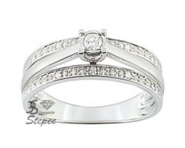 Bague solitaire or diamant(s) Christian Bernard - PK016GB4