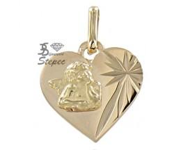 Médaille ange or Lucas Lucor - R1304