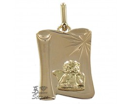 Médaille ange or Lucas Lucor - R1313