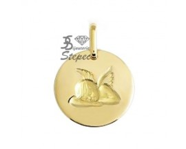 Médaille ange or Lucas Lucor - R1429