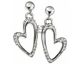 Boucles d'oreilles pendants acier Cerruti 1881 - R31335Z