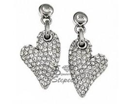 Boucles d'oreilles pendants acier Cerruti 1881 - R31336Z