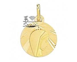 Médaille vierge or Lucas Lucor - R460
