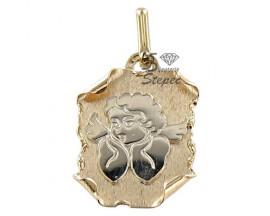 Médaille ange or Lucas Lucor - R56