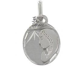Médaille vierge or Lucas Lucor - R743G