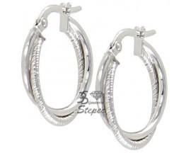 Boucles d'oreilles créoles or Stepec - RL400M215B