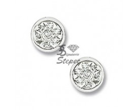 Boucles d'oreilles boutons diamant(s) or Christian Bernard - RM273GB4