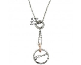 Collier empierré ligne Link Just Cavalli - SCJF01