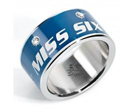 Bague acier empierré ligne Precious Miss Sixty - SMGQ09