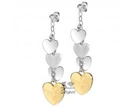 Boucles d'oreilles pendants ligne Exotic Miss Sixty - SMWD06