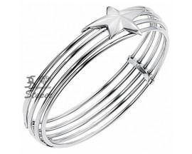 Bracelet rigide acier Thierry Mugler - T11220