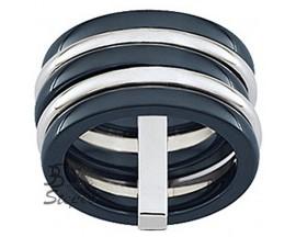 Bague acier céramique Ultimate Ceramic - 00C08ACN