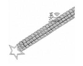 Bracelet argent Thierry Mugler - T52165Z