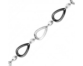 Bracelet acier & céramique Céranity - 903-104.N