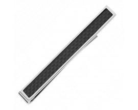 Pince à cravate acier & carbone Phebus - 65/0007-N
